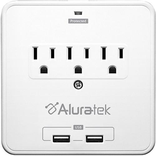 Aluratek Mini Surge Dual USB Charging Station AUCS07F