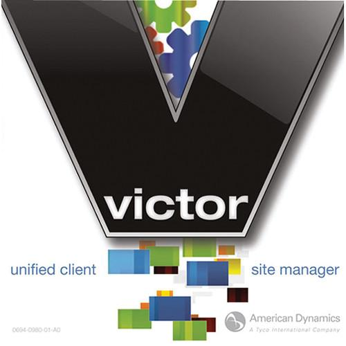 American Dynamics victor Site Manager Software with 10 ADVSMC10