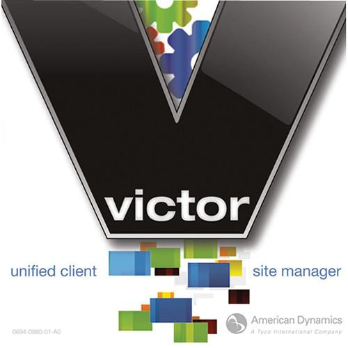 American Dynamics victor Site Manager Software with 2 ADVSMC02