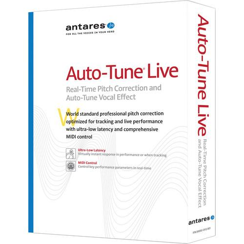 Antares Audio Technologies Auto-Tune Live Pitch Correction 28001