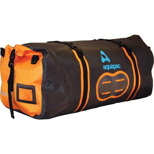 Aquapac 90L Upano Waterproof Duffel (Black, Orange) AQUA-705