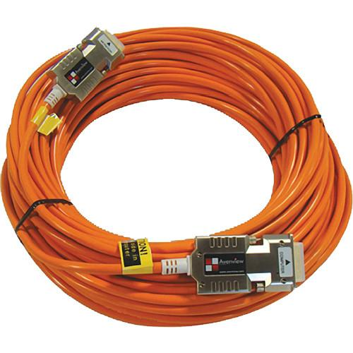Avenview FO-DVI-25MM Fiber Optical Cable System FO-DVI-25-MM