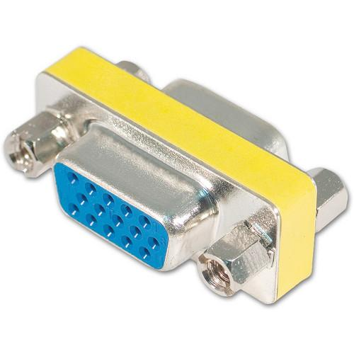 Avenview VGA (HD-15) Female to Female Coupler C-DVI-VGA-15HD-FF