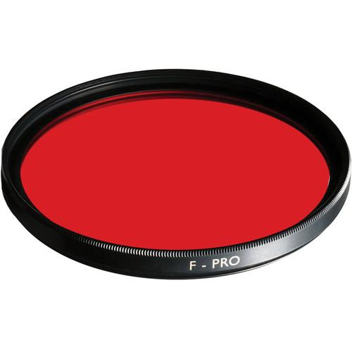 B W  37mm Light Red 090 Glass Filter 65-1070800