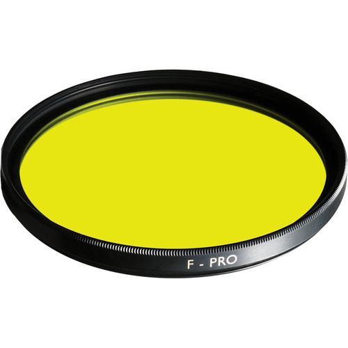 B W 37mm Medium Yellow 022 Glass Filter 65-070505