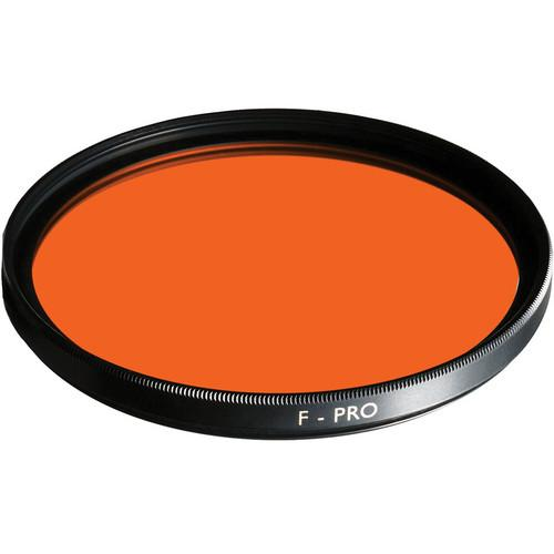 B W 37mm Yellow Orange 040 Glass Filter 65-070875