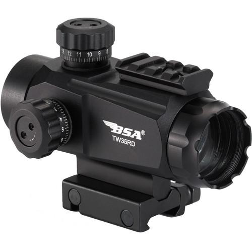 BSA Optics 1x35 TW Series Holographic Sight (5 MOA Dot) TW35RDCP