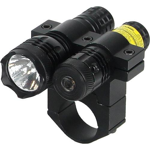 BSA Optics Red Dot Aiming Laser with 80 Lumen Flashlight TWLLCP