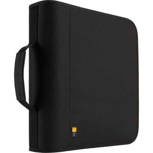Case Logic 208-Disc Nylon CD / DVD Binder (Black) BNB-208