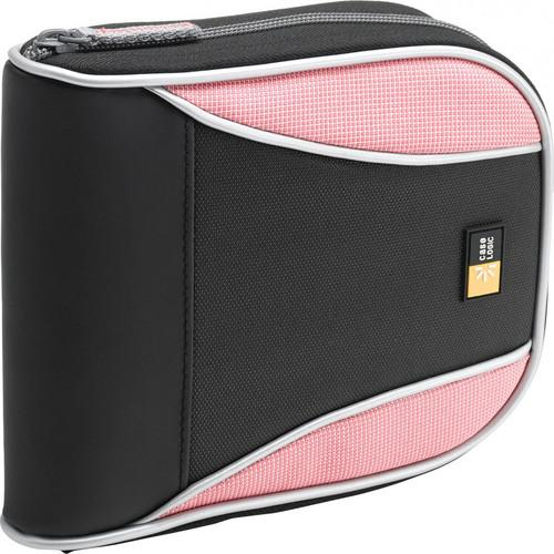Case Logic 32-Disc CD Wallet (Black / Pink) CSW-32