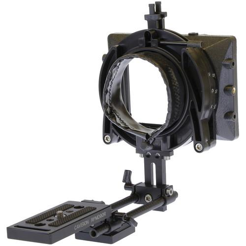 Cavision 3x3 Mattebox Package with 8mm Mini Rods MB3485B-8R-DSLR