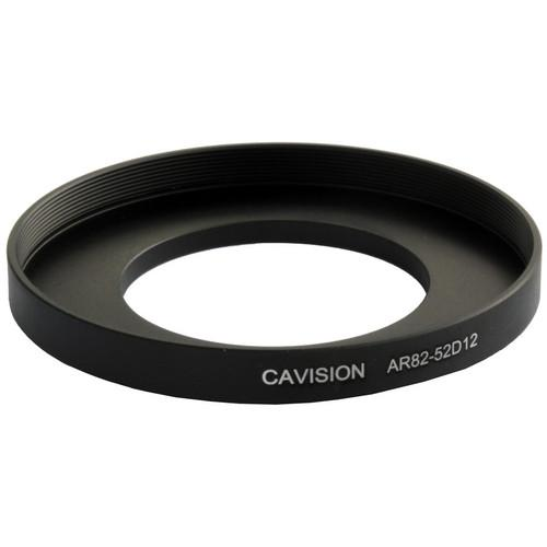 Cavision 52mm to 82mm Threaded Step-Up Ring AR82-52D12