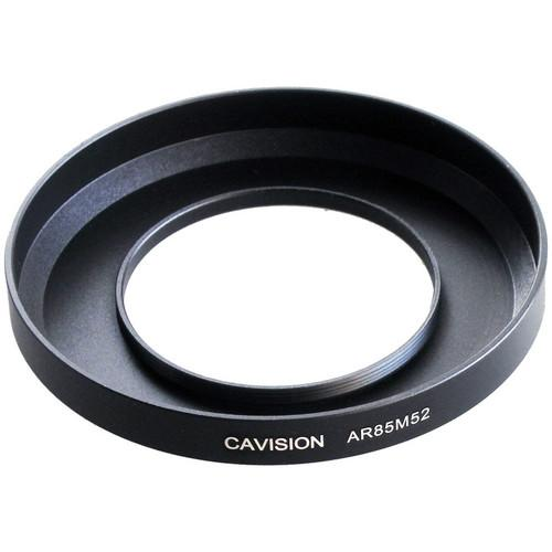 Cavision 85mm to 52mm Threaded Metal Deep Offset Step-Up AR85M52