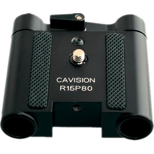 Cavision Plate-Style Balance Bracket for 15mm Rods R15P80