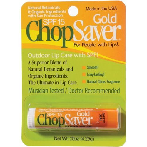 ChopSaver ChopSaver Gold with SPF Lip Balm for Musicians 750123
