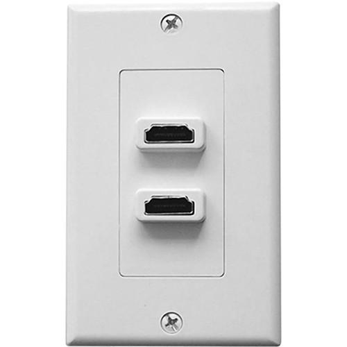 Comprehensive WP-5895-P-W Single Gang Decora Wall WP-5895-P-W