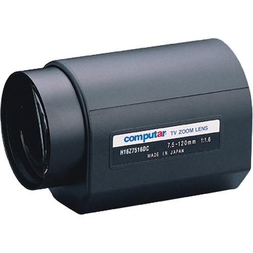 computar H16Z7516PDC C-Mount 7.5 to 120mm f1.6 16x H16Z7516PDC