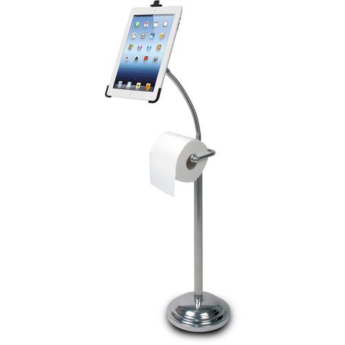 CTA Digital Pedestal Stand with Roll Holder for 2nd, PAD-TSB