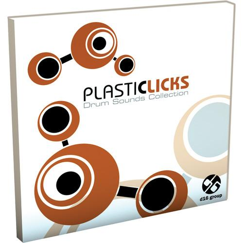 D16 Group Plasticlicks Drum Sound Library 11-31196
