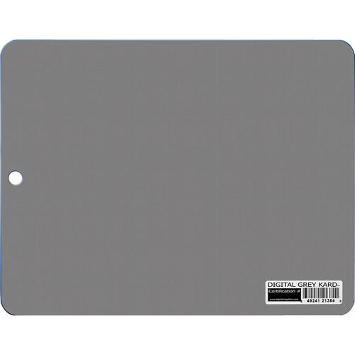 DGK Color Tools Tablet Size Digital Grey Kard - White DGK-T