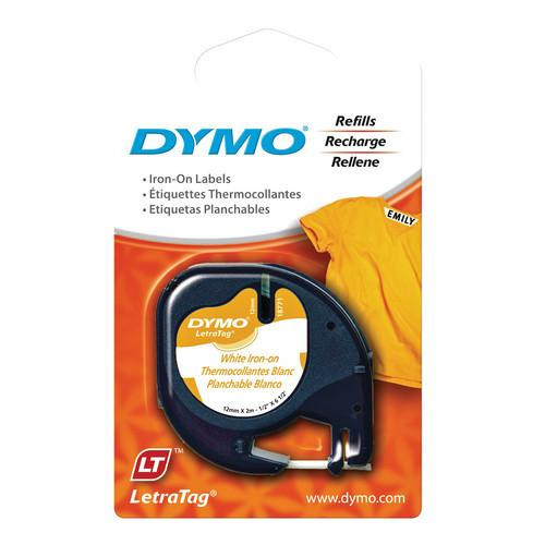 Dymo  Fabric Iron-On LetraTag Tape 18771