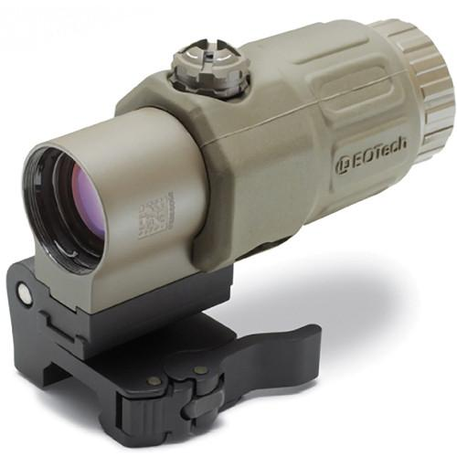 EOTech EOTech G33.STS 3x Magnifier with Mount (Tan) G33.STS TAN