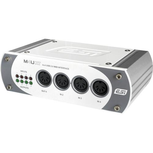 ESI M4U XT 4-Input / 4-Output USB MIDI Interface M4UXT