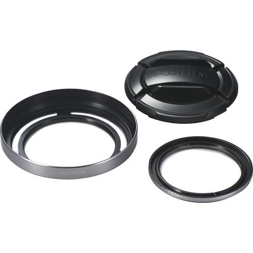 Fujifilm X20 Lens Hood and Filter Set for X10, X20, or 16325971