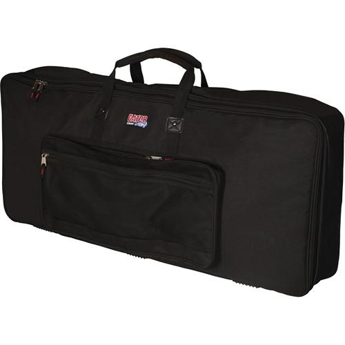 Gator Cases Keyboard Gig Bag for 61-Note Slim GKB-61 SLIM