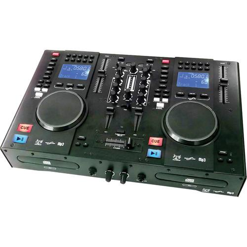 Gem Sound CMP-1200 Dual CD and MP3 DJ Mixer and MIDI CMP1200