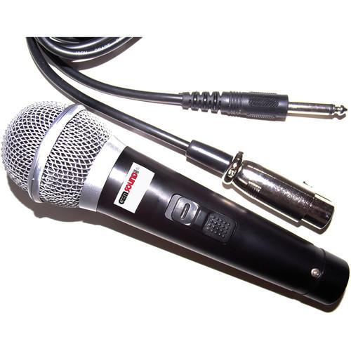 Gem Sound GM-48 Dynamic Unidirectional Microphone with XLR GM48