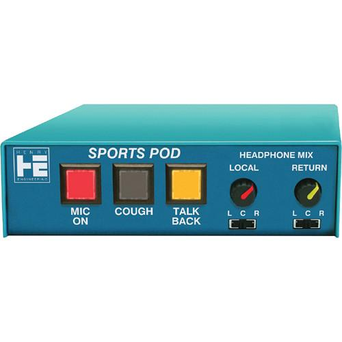 Henry Engineering Sports Pod Microphone/Headphone Controller SP