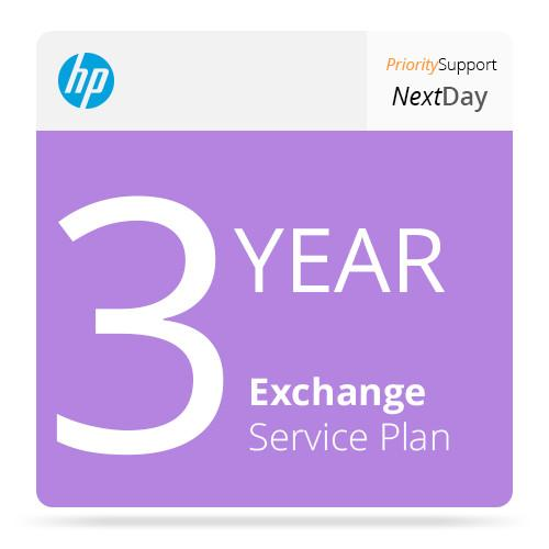 HP 3-Year Next Business Day Exchange Service UQ207E