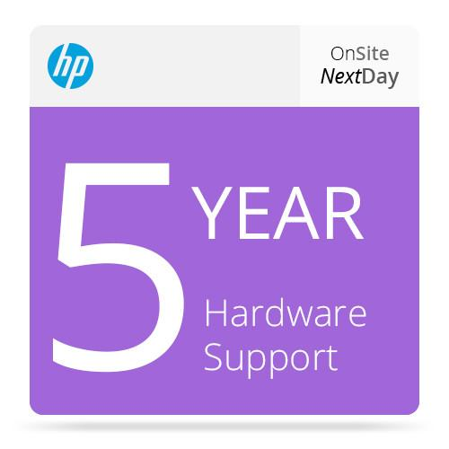 HP 5-Year Next Business Day Onsite Hardware Support UV212E