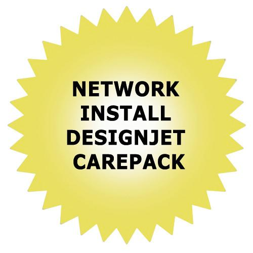 HP Network Installation Service for DesignJet High-End H4518E