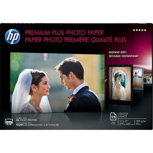 HP Premium Plus Glossy Archival Photo Paper CV065A