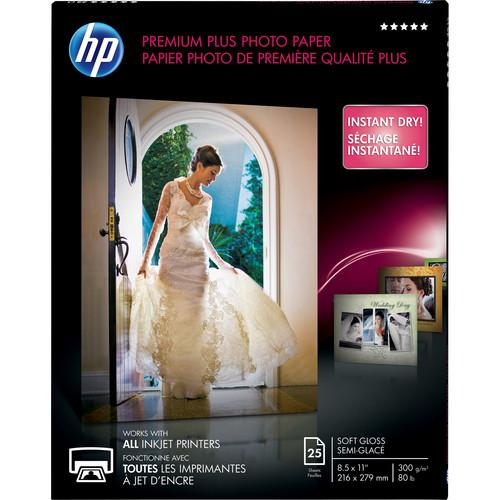 HP  Premium Plus Soft-Gloss Photo Paper CR671A