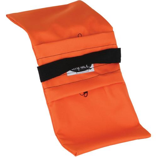Impact Empty Saddle Sandbag Kit, Set of 6 - 5 lb (Orange)