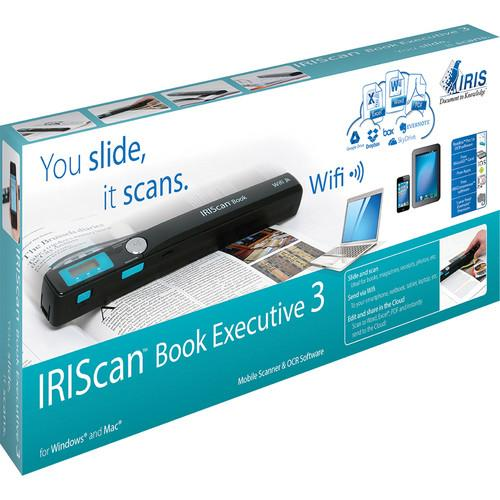IRIS IRIScan Book 3 Executive Portable Scanner 457889