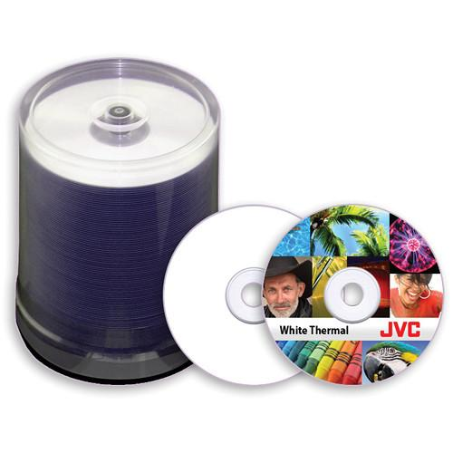 JVC JDMR-TWY-SB16 White DVD-R Thermal Printable JDMR-TWY-SB16