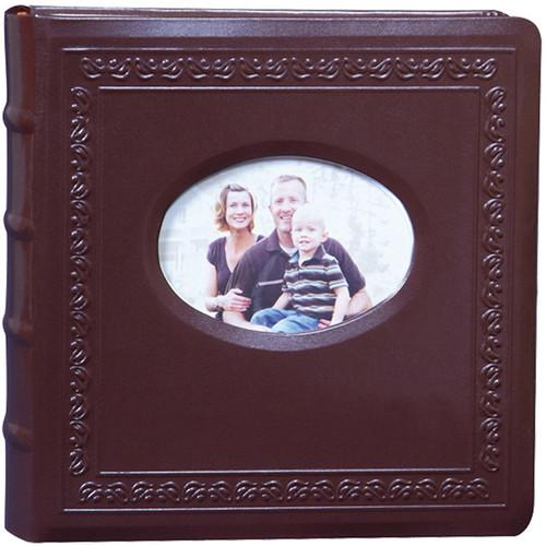 Kleer Vu 200 Photo 4x6 Genuine Leather Photo Album 90791-B
