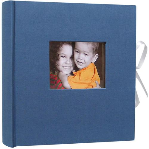 Kleer Vu 256 Photo 4x6 Este Flower Photo Album (Blue) 90262-B