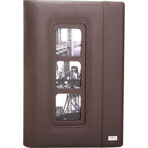 Kleer Vu 300 Photo 4x6 Avanti Photo Album (Brown) 80314-B