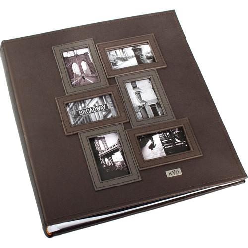 Kleer Vu 400 Photo 4x6 Kollage Photo Album (Brown) 90740-B