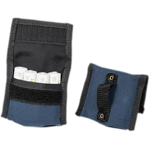 LensCoat BatteryPouch AA 4 4 (2 Pack, Navy) BPAA44NA