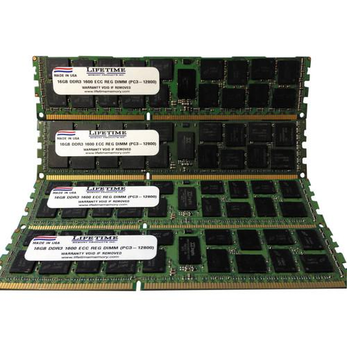 Lifetime Memory 64GB (8 x 8) PC3-12800 ECC 10308-64ERKIT