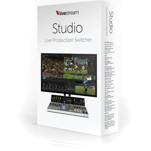 Livestream Livestream Studio Software LS-STUDIO SOFTWARE