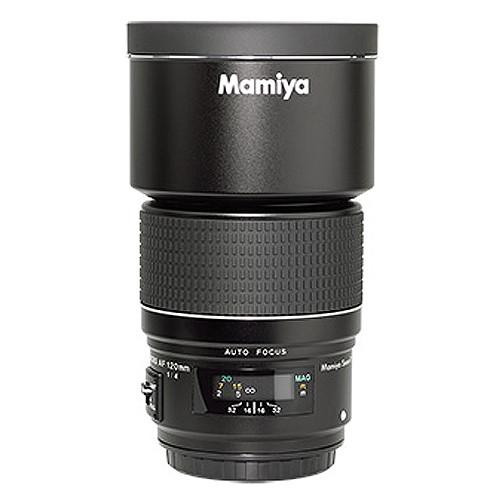 Mamiya 120mm f/4.0 AF Macro SEKOR Lens with Hood 800-59300A