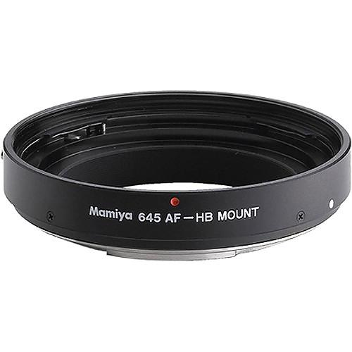 Mamiya 800-53200A Mount Adapter HBB NR404 (Black) 800-53200A