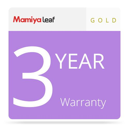 Mamiya Gold Package Warranty for Credo 040-00000B